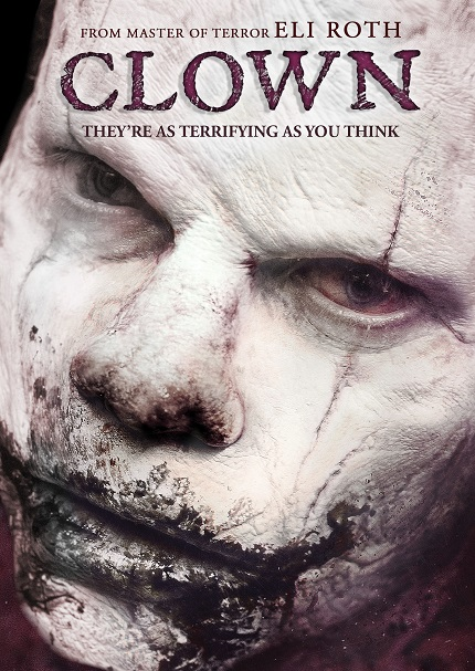 Jon Watts' CLOWN Comes Out on Blu-ray And DVD in August