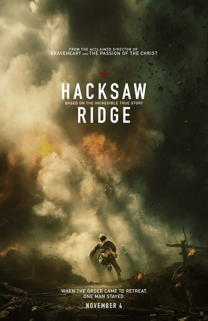 Blowing Things Up In Praise Of Pacifism, Here Comes The HACKSAW RIDGE Trailer