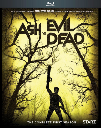 Now on Blu-ray: ASH VS. EVIL DEAD Scratches the Evil Dead Itch