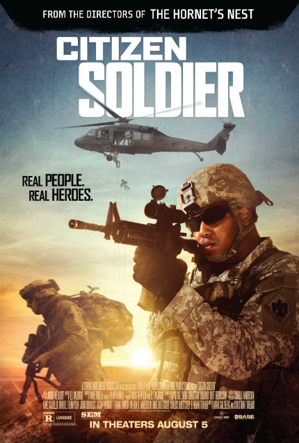Exclusive Clip: CITIZEN SOLDIER, Heart-Stopping Terror For Your Brother