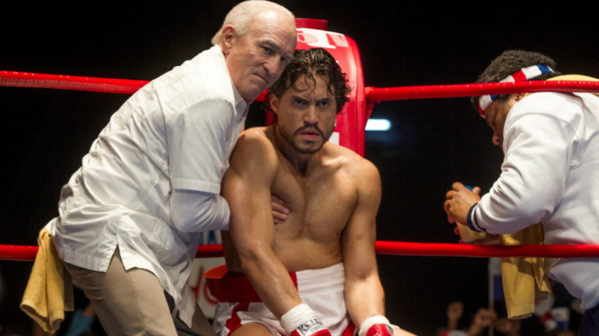 Review: HANDS OF STONE, Fleet of Foot, Light on Insight