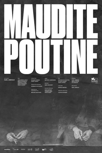 MAUDITE POUTINE (SHAMBLES): Trailer Premiere For Karl Lemieux's Striking New Feature