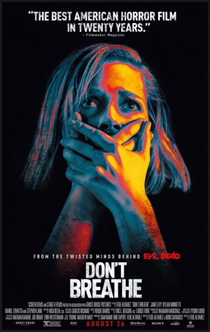 Review: DON'T BREATHE Speeds Through Tight Turns With Wild Abandon