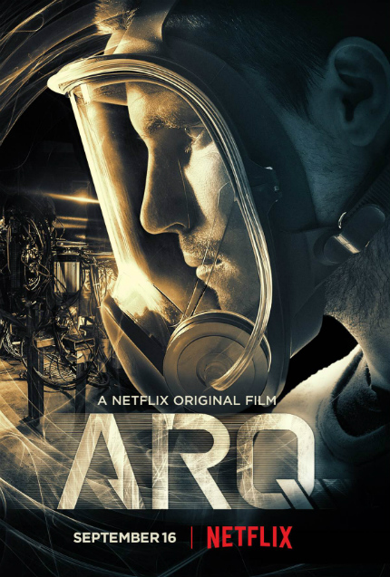 ARQ: New Trailer and Poster, As Twisty Sci-Fi Flick Heads to Toronto and Netflix