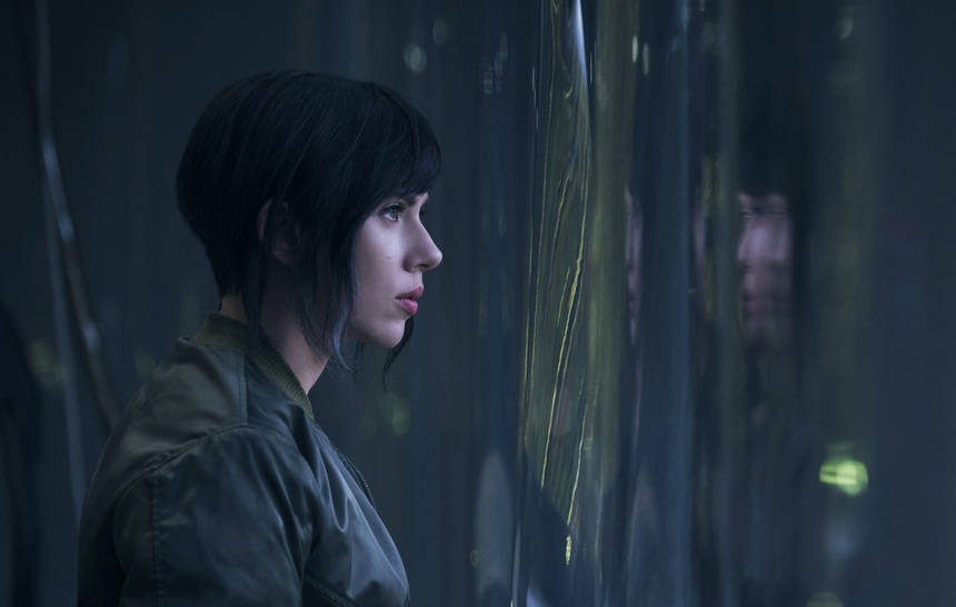 GHOST IN THE SHELL: Loads Of New Footage As Oshii Visits Set