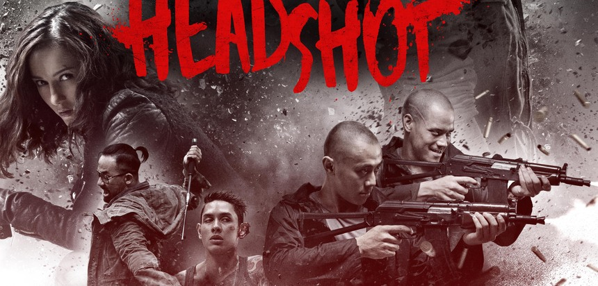 Exclusive HEADSHOT Poster Premiere Looks Badass