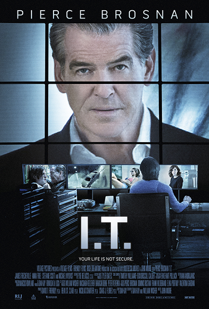 I.T. : An Unexpected Guest in a Clip From Thriller Starring Pierce Brosnan