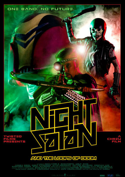 Post-Apocalypse! Synthesizers! Watch NIGHTSATAN AND THE LOOPS OF DOOM Short Now!