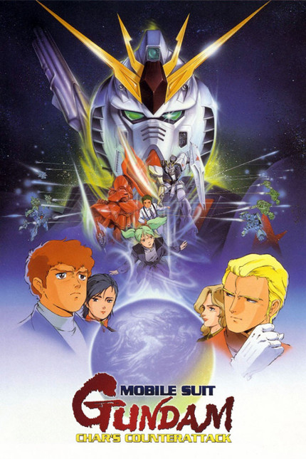 Classic 80s Anime review: Mobile Suit Gundam - Chars Counter Attack, a Japanese anime movie from 1988