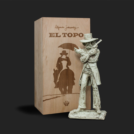 Alejandro Jodorowsky and Unbox Industries announce a series of statues based off his cult films.