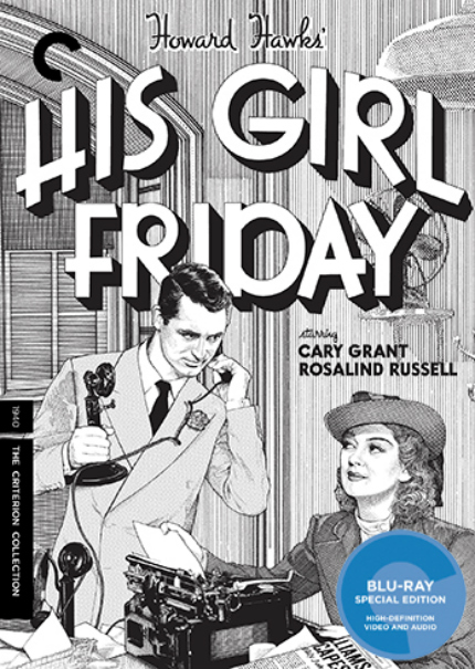 Criterion in January 2017: HIS GIRL FRIDAY, FOX AND HIS FRIENDS, SOMETHING WILD, BLACK GIRL