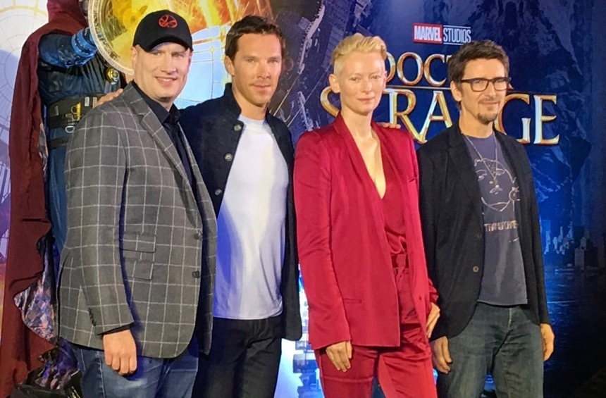 DOCTOR STRANGE: Cumberbatch & Co in Hong Kong with Marvel's Sorcerer Supreme
