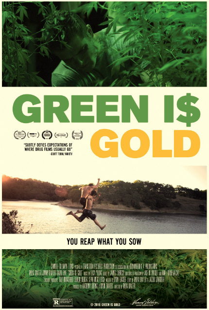 Exclusive GREEN IS GOLD Clip: Here Is Your Business License, Mr. Marijuana Dealer