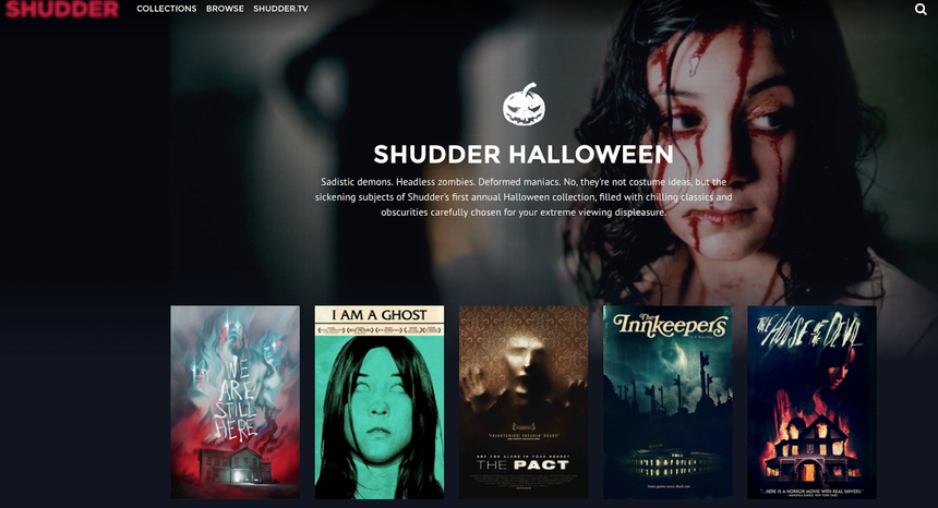 Shudder Provides Perfect Halloween Binge Watching