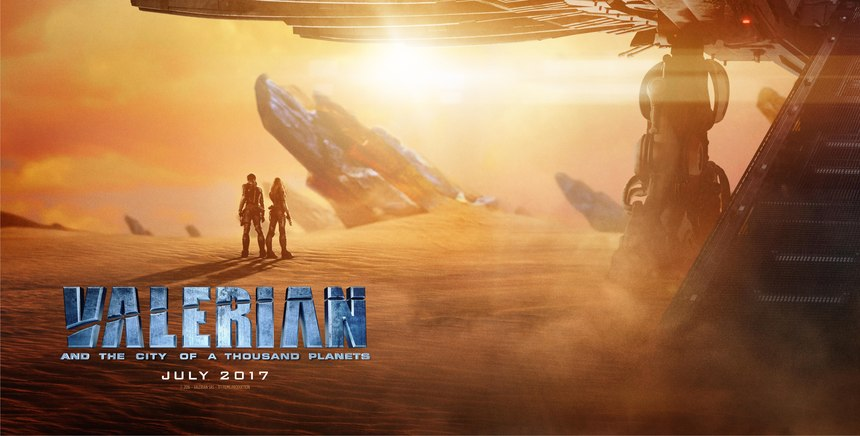 New York Comic Con 2016: VALERIAN AND THE CITY OF A THOUSAND PLANETS Gets a New Poster and Stills