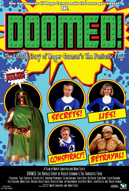 Review: DOOMED! THE UNTOLD STORY OF ROGER CORMAN'S THE FANTASTIC FOUR Stretches, Hits, Burns, then Disappears