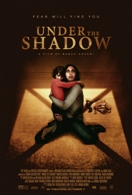 Review: UNDER THE SHADOW, Jump Scare Terror in the Middle East