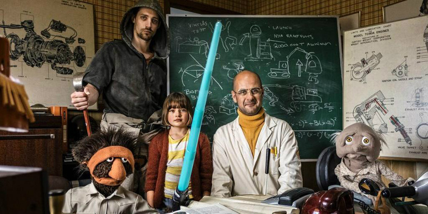 Children And Puppets In Space! Watch The UPP I DET BLA (UP IN THE SKY) Trailer!