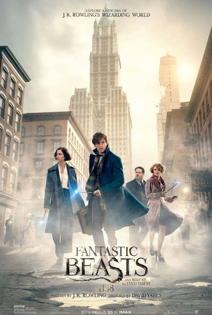 Review: FANTASTIC BEASTS AND WHERE TO FIND THEM Slowly Lurks