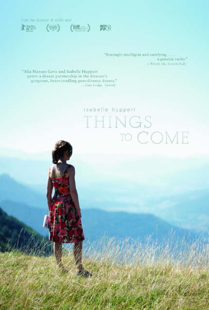 Review: THINGS TO COME, Philosophy Teacher Isabelle Huppert Contemplates the Future