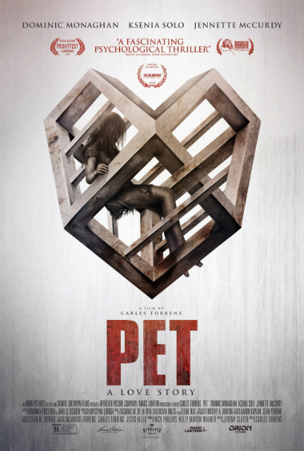 Review: PET, A Man, A Woman, and a Cage