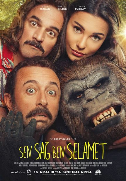 Escaped Cons, A Bow Wielding Bounty Hunter And A Lusty Gorilla In The Trailer For Gonzo Turkish Comedy SEN SAG BEN SELAMET