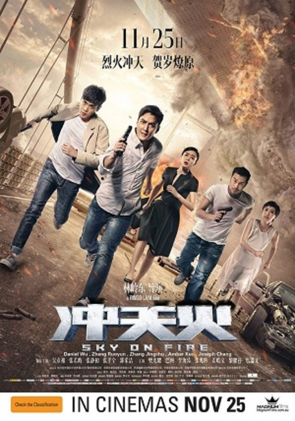 Hey Australia! Win Tickets to See Ringo Lam's SKY ON FIRE in Cinemas!