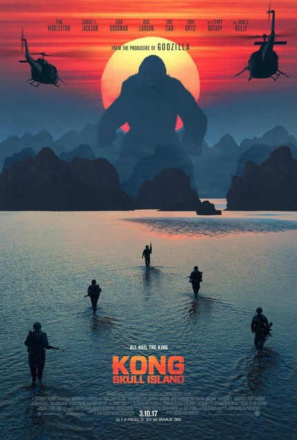 Holy Shit! In KONG: SKULL ISLAND, The Ape Is Just The Beginning.