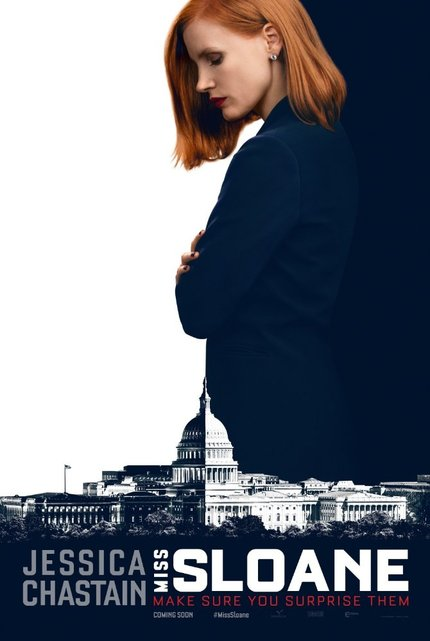 Review: MISS SLOANE Wallows in Politics as Usual