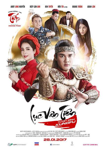 LUC VAN TIEN: TUYET DINH KUNGFU - Watch The Final Teaser And Official Trailer For Andy Long Nguyen's Thrilling Martial Arts Lead Debut