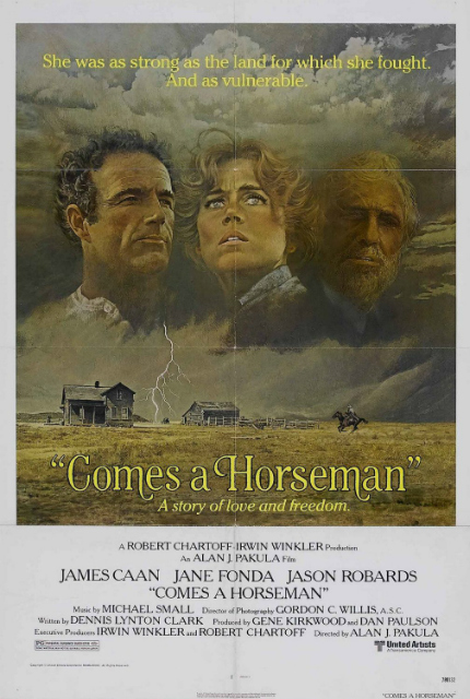 70s Rewind: COMES A HORSEMAN, James Caan and Jane Fonda in a Western