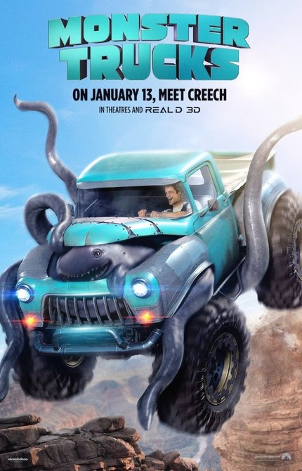 Review: MONSTER TRUCKS Lives Up to Very Low Expectations