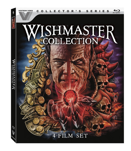 Now on Blu-ray: THE WISHMASTER COLLECTION Arrives From Vestron Video