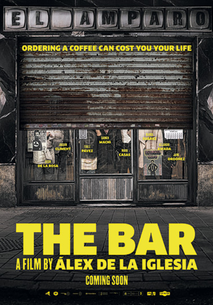 THE BAR: Watch The Riotous Trailer For Alex de la Iglesia's Latest