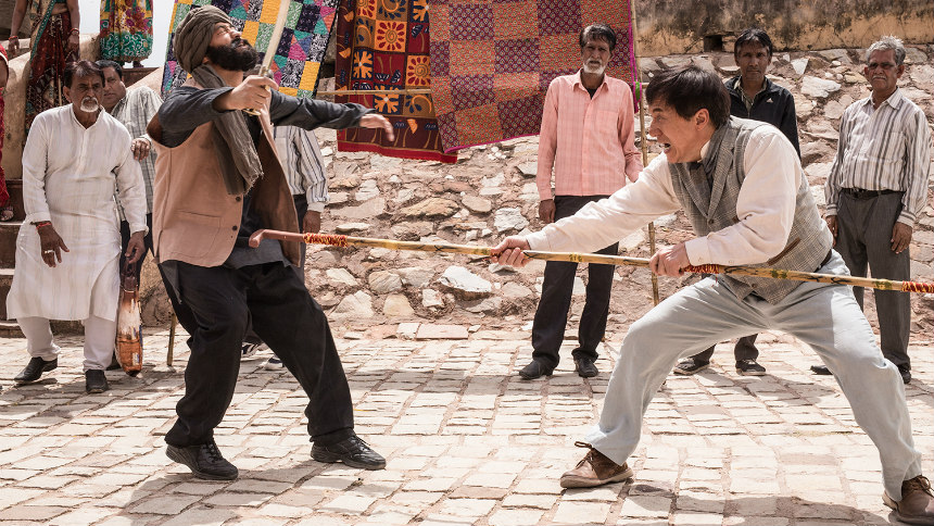Review: In KUNG FU YOGA, Jackie Chan Heads to India on an Adventure