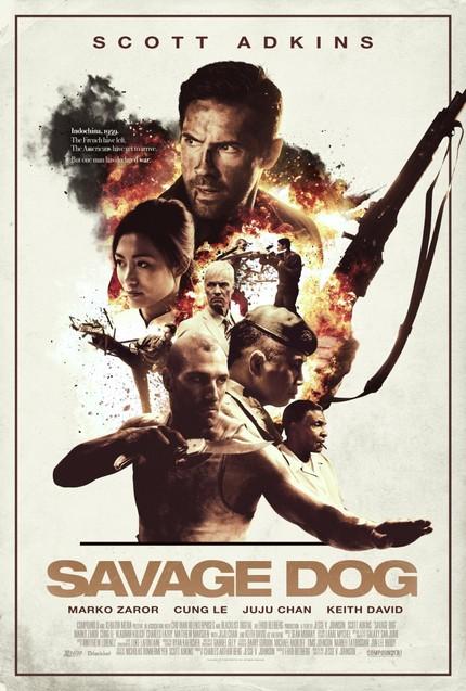 Martial Arts Action star sensation Scott Adkins is back in SAVAGE DOG