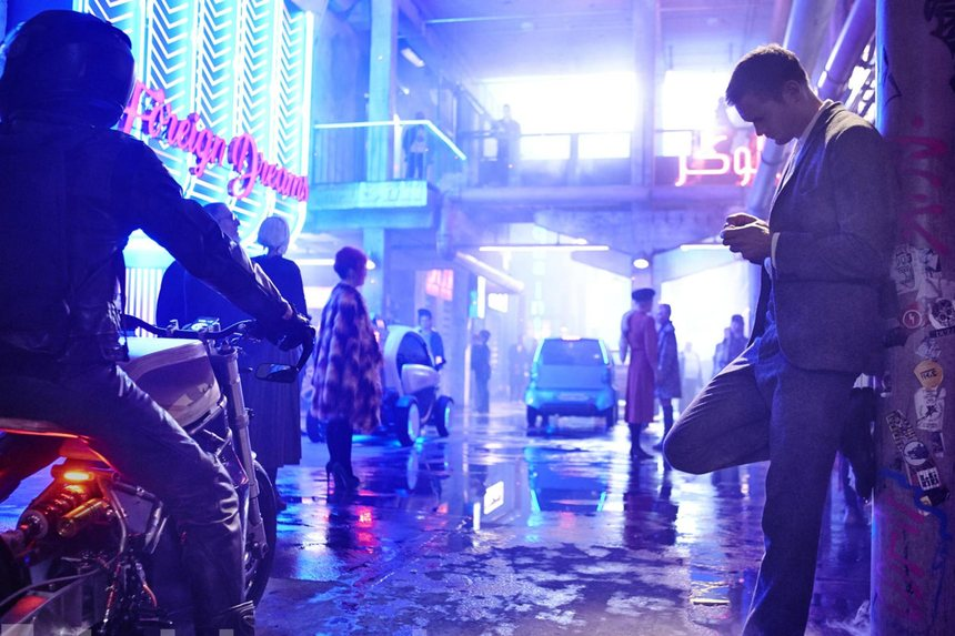 First MUTE Images Show a Neon Soaked Future