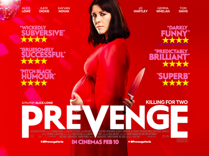 Alice Lowe's PREVENGE: New Poster And UK Q&A Preview Tour Announced