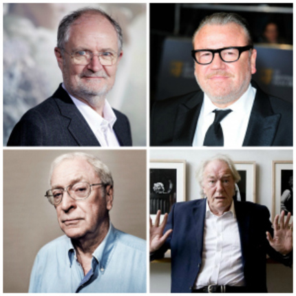 Michael Caine, Jim Broadbent, Michael Gambon and Ray Winstone in Talks to be The DIAMOND GEEZERS