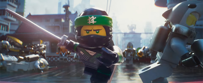 THE LEGO NINJAGO MOVIE: Watch The First Trailer, Ripe With Ninjas, Giant Robots and Daddy Issues?