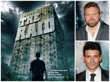 THE RAID Re-imagining Moves Ahead With THE GREY's Joe Carnahan And WINTER SOLDIER's Frank Grillo