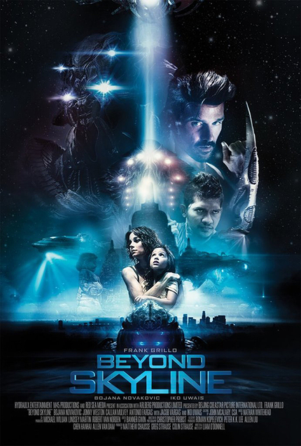 BEYOND SKYLINE Poster Lights Up the Skies