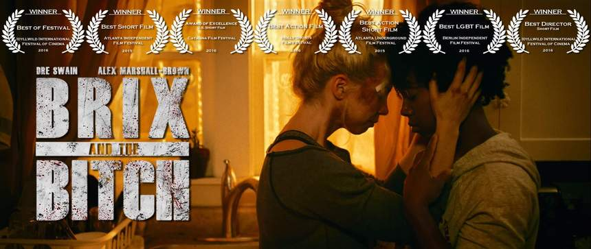 FOR YOUR CONSIDERATION: Award-Winning Action Drama, BRIX AND THE BITCH, Bites Down On V-Day