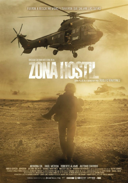 ZONA HOSTIL (RESCUE UNDER FIRE) Trailer: Spanish Military Heroes in Afghanistan