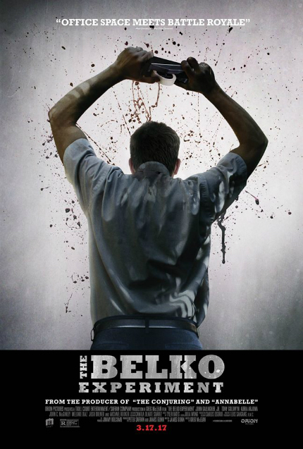 Review: THE BELKO EXPERIMENT, Bloody, Brutal Terror in the Office