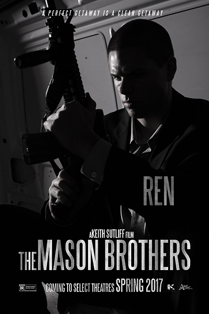 We Are Taking The Scenic Route to a Heist in This Clip From THE MASON BROTHERS