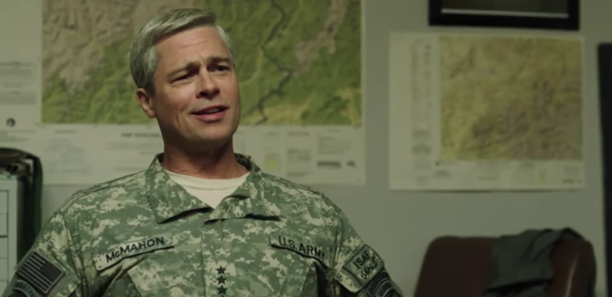Brad Pitt Drives David Michod's WAR MACHINE In First Teaser