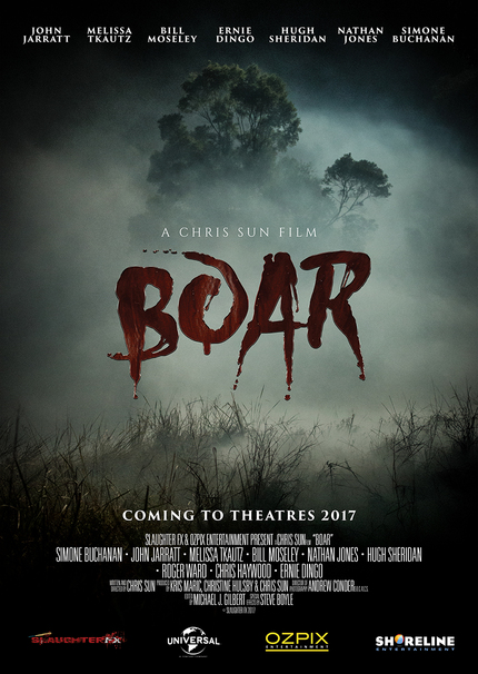 Aussie Creature Feature BOAR Picked up by Universal Australia