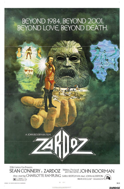 70s Rewind: ZARDOZ, Much More Than Sean Connery Running Around in a Loincloth