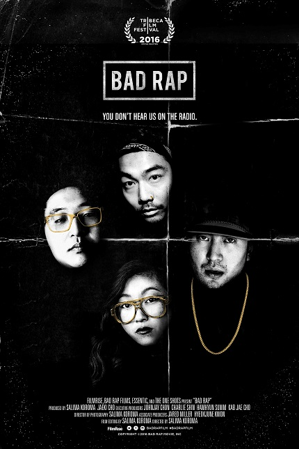 BAD RAP: Watch the Trailer for Asian-American Hip Hop Doc Out on VOD May 23rd
